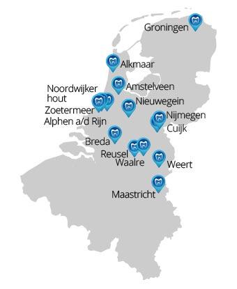 Locatie plattegrond Vink Tandtechniek