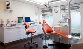 Eén van onze behandelkamers